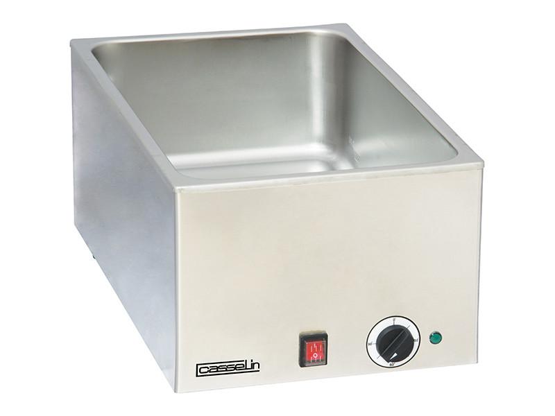 Bain marie electrique gn 1/1 profondeur 150mm - casselin