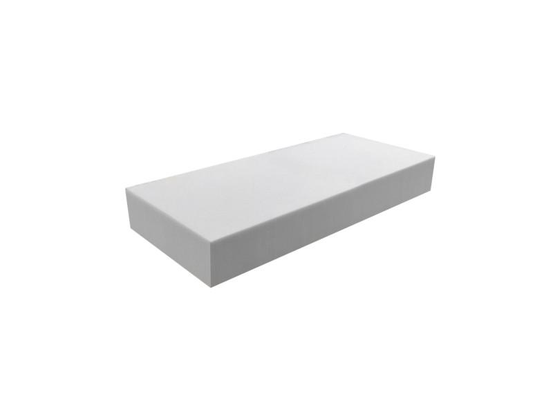 Matelas pour tous | plaque de mousse 30 kg/m³ 60x120 cm | epaisseur 10 cm 3DE.PE.30.10.0612