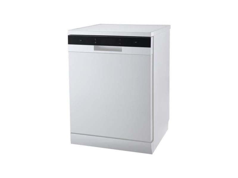 Lave-vaisselle pose libre continental edison 14 couverts 60cm a++, celv1444w CELV1444W