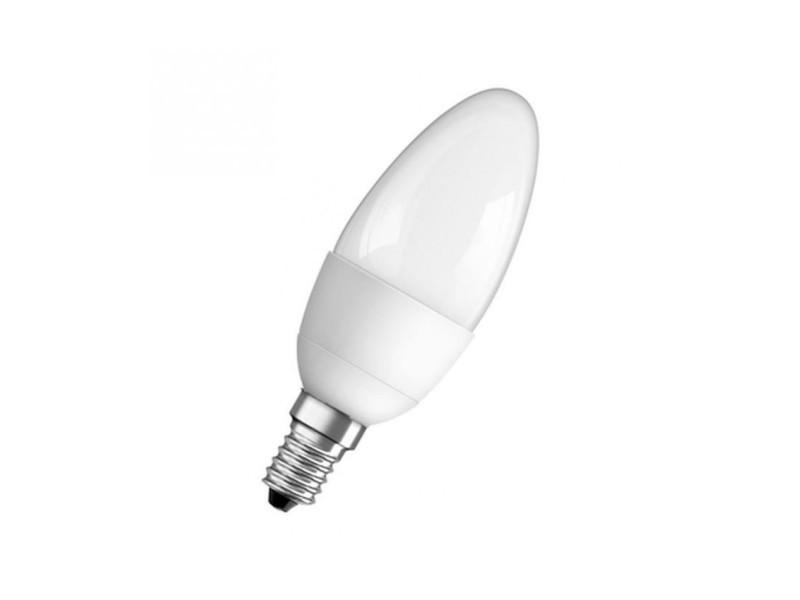 Ampoule led e14 flamme dépolie blanc chaud 6w équivalent 40w star OSR4052899911987