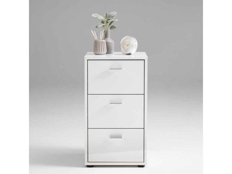 Paris prix - table d'appoint 3 tiroirs design \