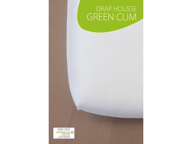 drap housse bambou pour lit b b 60x120 cm blanc vente de kadolis conforama. Black Bedroom Furniture Sets. Home Design Ideas