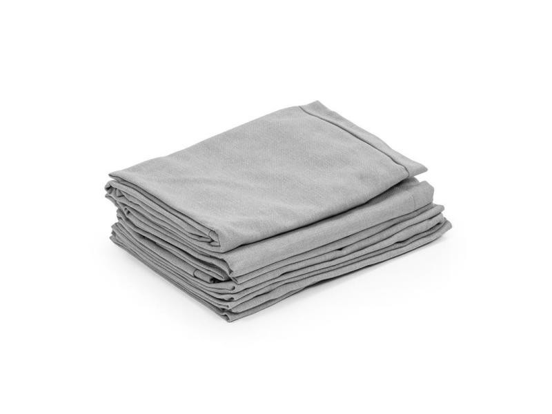 Blumfeldt titania dining set housses de coin salon 10 pièces 100% polyester gris clair GDMC5-Titania Cover2