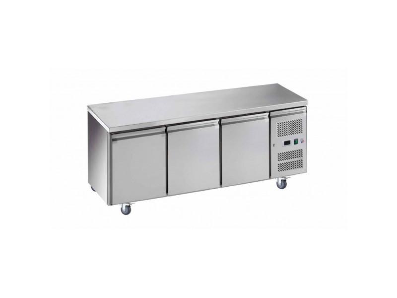 Table réfrigérée négative - 3 portes - l2g - r290 3 portes pleine