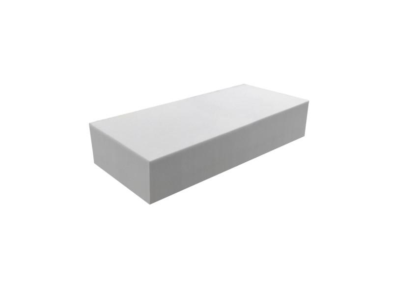 Matelas pour tous | plaque de mousse 30 kg/m³ 60x120 cm | epaisseur 15 cm 3DE.PE.30.15.0612
