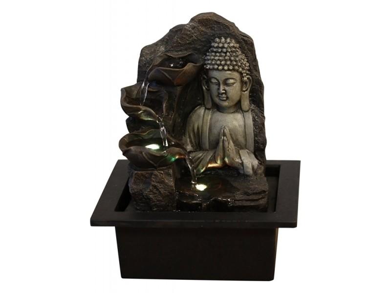 Fontaine bouddha cascades zen spiritualité shino kida