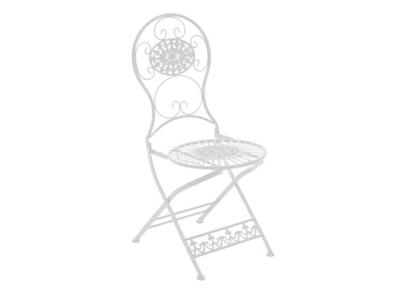 Splendide chaise de salle à manger, de cuisine, de salon exterieur en fer koweït