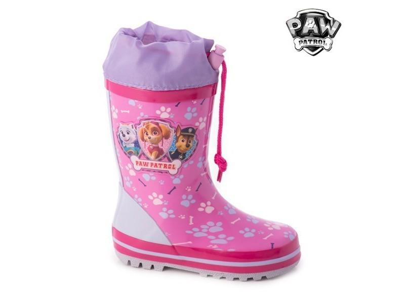 48d07ea5a1b46 Bottes de pluie en caoutchouc roses la pat  patrouille - vetmeent enfant  taille des chaussures - 31