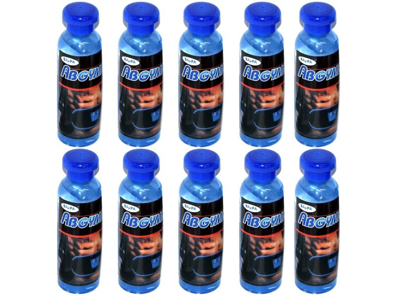 Lot de 10 gels conducteurs abgymnic (10 x100ml) pour ceinture abdominale, amincissante, electrostimulation sport fitness