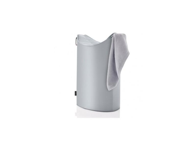 Corbeille à linge design grise frisco