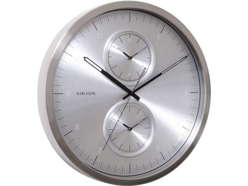 Horloge ronde multiple time 50 cm