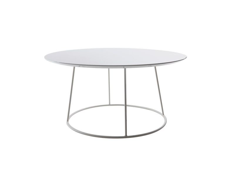 Table Basse Design Blanche Kaly Vente De Table Basse Conforama