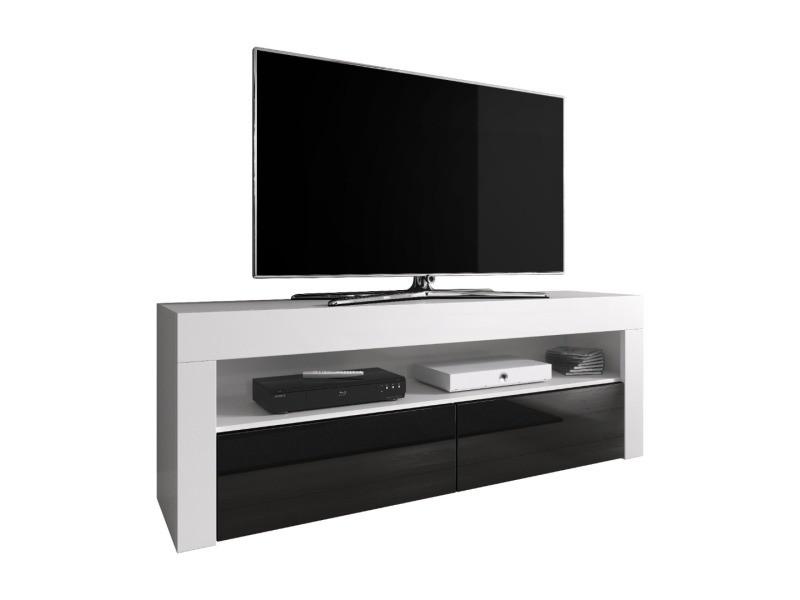 E Com Meuble Tv Armoire Tele Table Television Luna 140