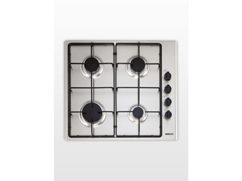 Beko hizg 64101 sx plaque acier inoxydable intégré (placement) gaz 4 zone(s)