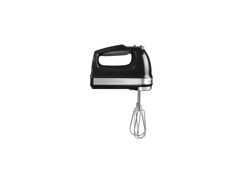 Kitchenaid 5khm9212eob batteur a main - noir onyx