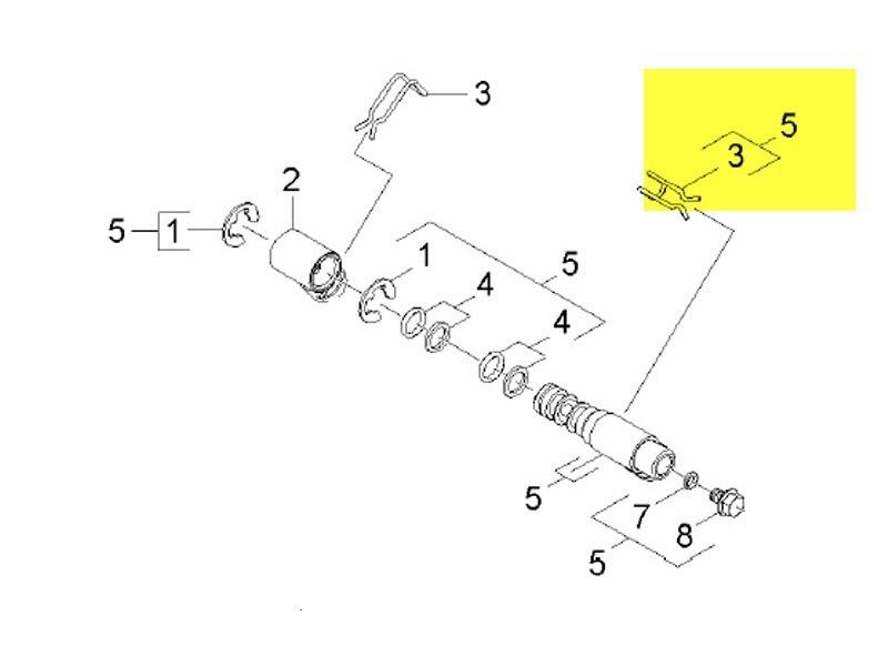 Kit arbre creux enrouleur pour nettoyeur haute-pression karcher - 28851870