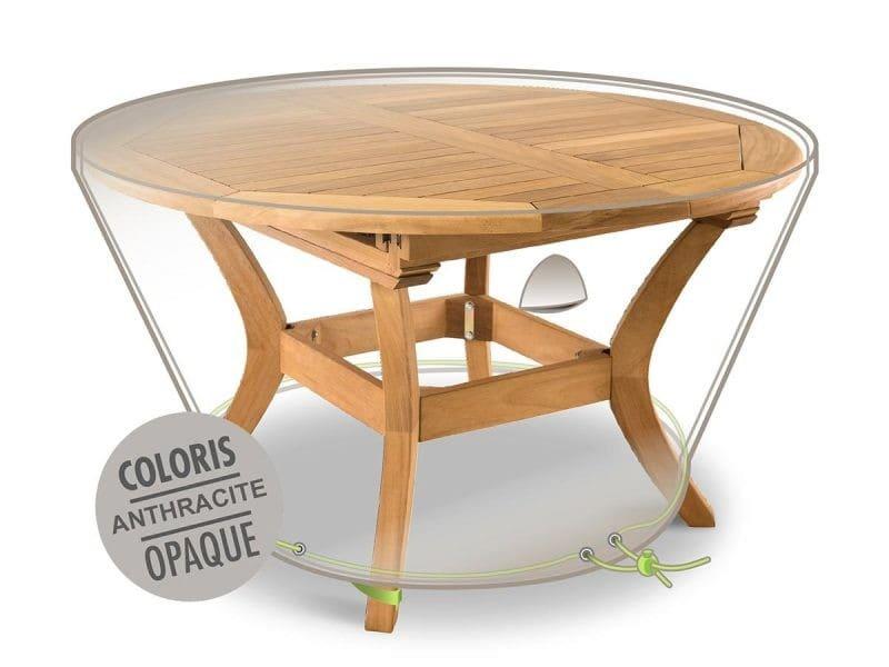 Housse de protection pour table de jardin ronde ø 120 x 50 cm