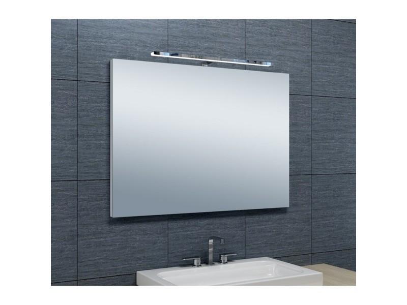 Miroir de salle de bains avec spot led horizontale - 65 cm x 90 cm ...