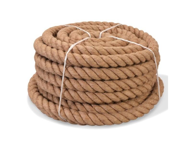 Splendide chaînes, câbles et cordes reference pékin corde 100 % jute 14 mm 250 m