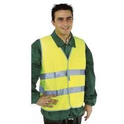Gilet de sécurité jaune