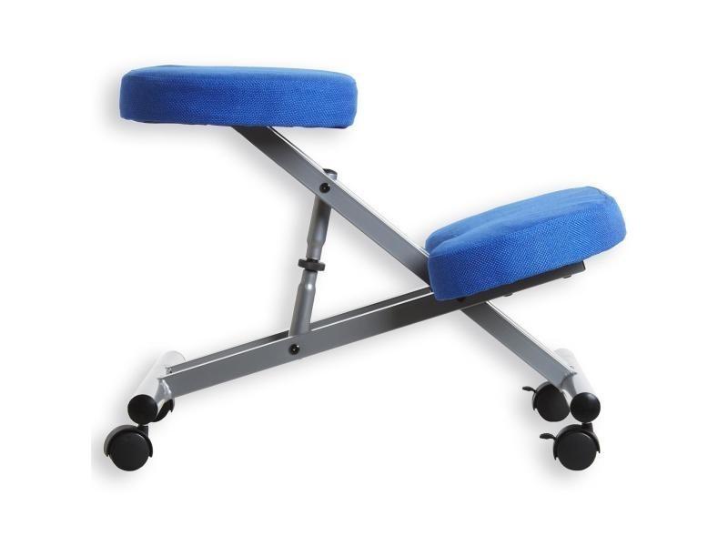 tabouret ergonomique robert aluminium bleu vente de fauteuil de bureau conforama. Black Bedroom Furniture Sets. Home Design Ideas