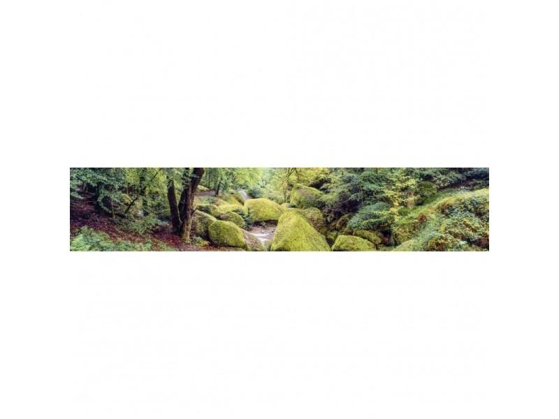Brise vue 100% occultant huelgoat 500 x 100 cm - canisse brise vent pour clôture de jardin