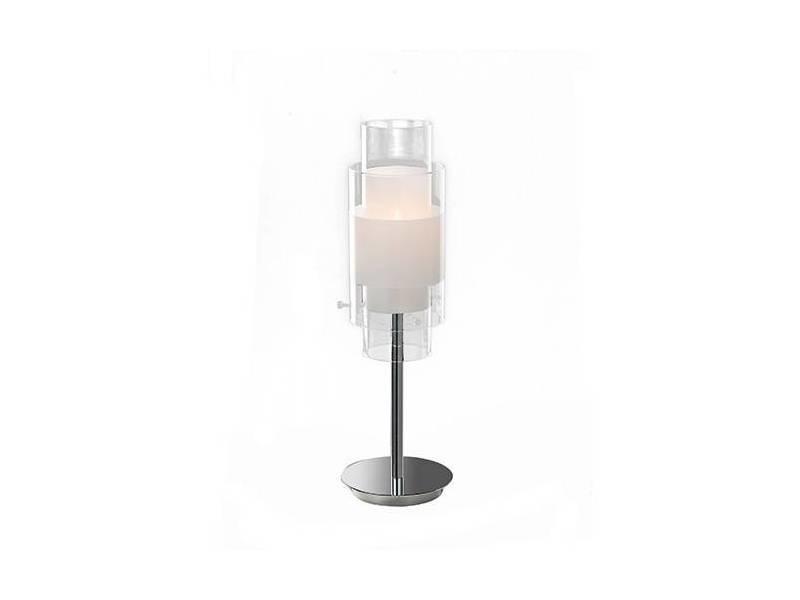 Kixozupt Metal Et Verre Vente Argente Lampe De Ruiz Conforama FlK1Jc