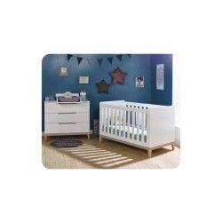 Mini chambre bébé riga avec plan à langer
