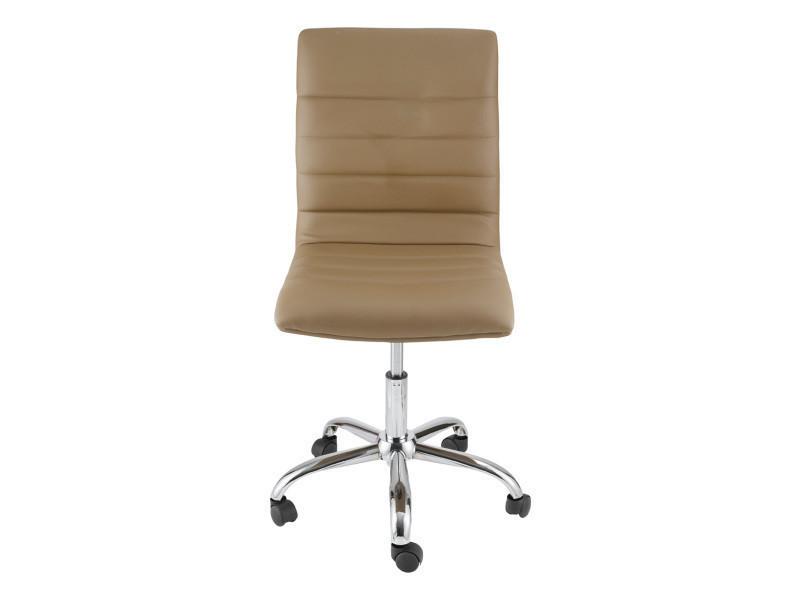 Chaise de bureau taupe zoé zoe cha parent vente de idclik conforama