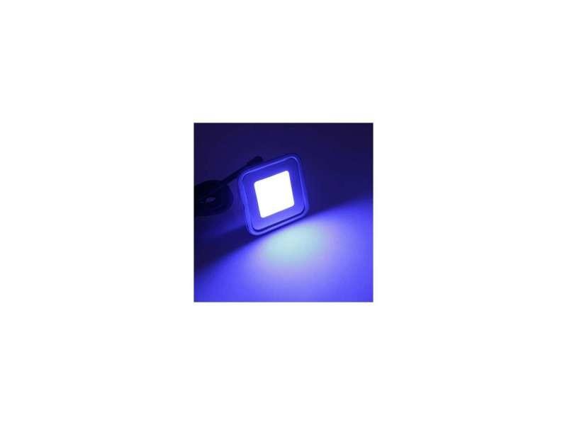 Spot led encastrable rgb carré ultra-plat SP-C09