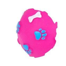 Jouet pour chien - balle sonore - rose