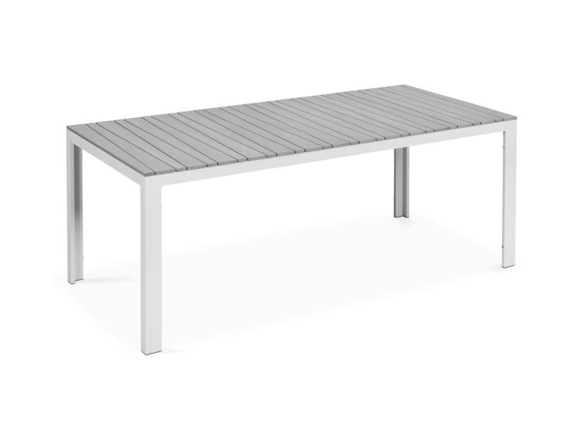 table de jardin 8 places aluminium et polywood vente de. Black Bedroom Furniture Sets. Home Design Ideas