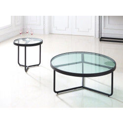 Table basse transparent conforama - Table basse ronde conforama ...