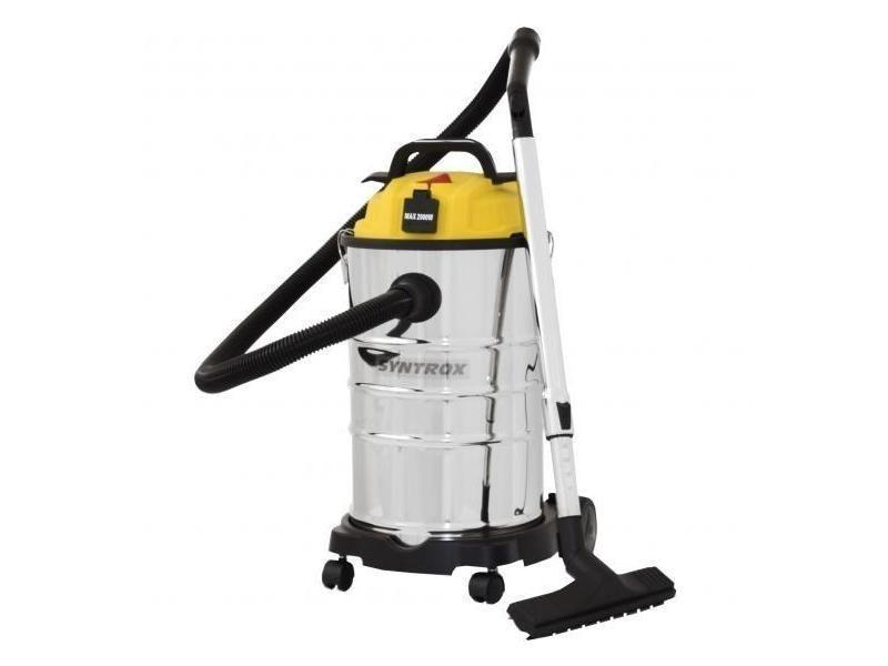 Aspirateur industriel inox 1200w de 30 litres