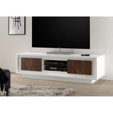 Meuble Tv Hifi Vidéo Design Georgina 156 Cm 156 Cm X 50 Cm X 45 Cm