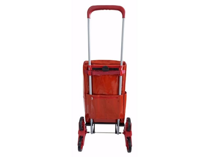 Marque Bo Time Chariot de Courses 2 Roues avec Poign/ée T/élescopique Capacit/é 40L // 25kg Sac Imperm/éable avec Fermeture Eclair de Qualit/é