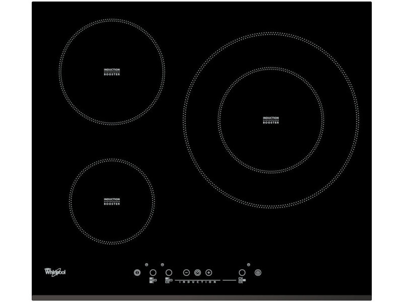 Plaque induction whirlpool integrable 7000w 58cm, acm 334 bf ACM334BF