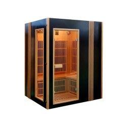Cabine de sauna infrarouge finland avec chromother