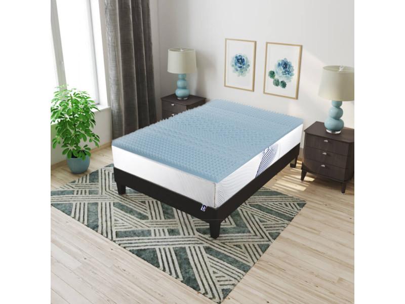 surmatelas mmoire de forme amazing conu pour maintenir le corps et pour empcher duavoir mal au. Black Bedroom Furniture Sets. Home Design Ideas