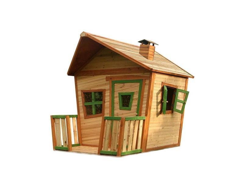 Axi cabane enfant jesse brun vert A030.105.00