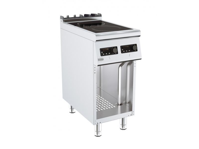 Fourneau sur meuble induction gamme 700 - 2 plaques - combisteel -