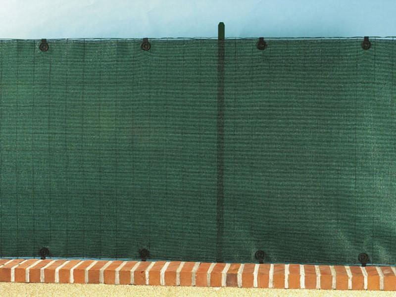 Intermas - brise vue tissé 95% occultant - vert- 1 x 3 m totaltex 174070