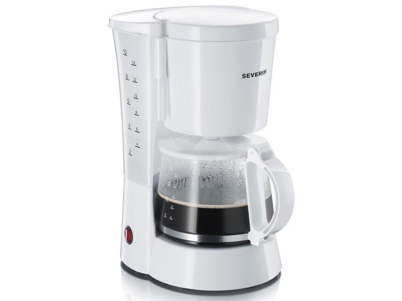 Severin cafetière filtre 10-15 tasses blanche ka4478 - Vente de ...