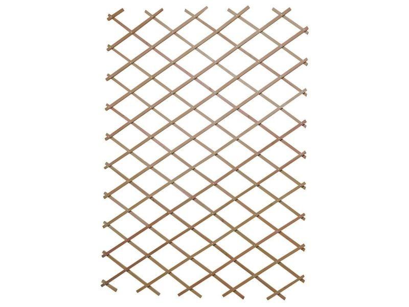 Panneau treillis en bois 120 x 180 cm