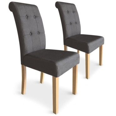 Paris prix lot de 2 chaises design