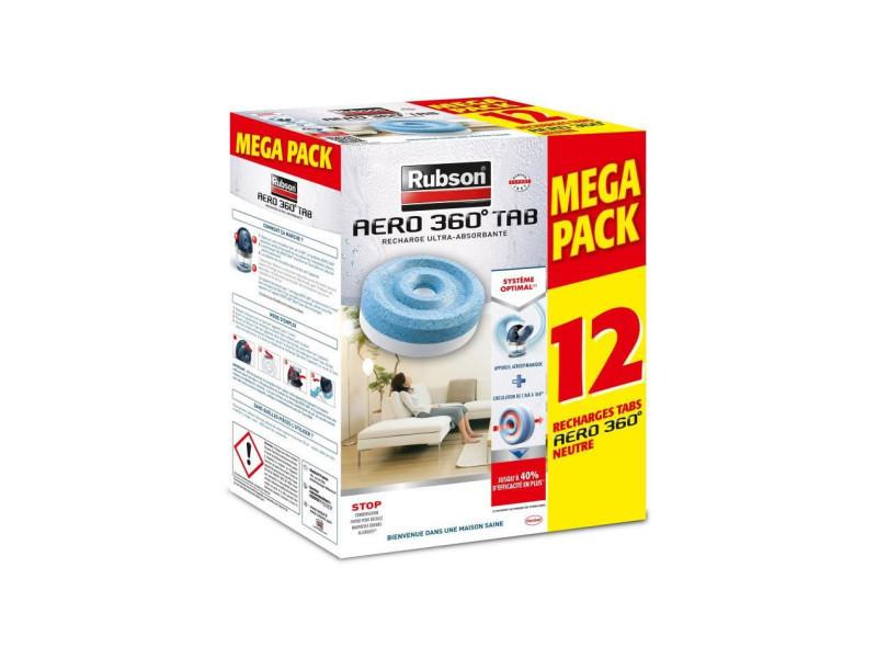 Promo mega pack lot de 12 recharge aero 360 neutre RUB3178041320665