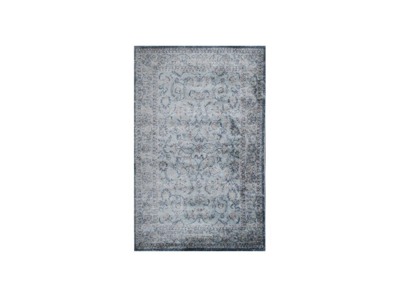 Tapis de salon oriental grenada gris 120x170cm - Vente de ...