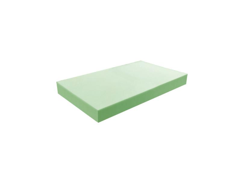 Matelas pour tous | plaque de mousse 35 kg/m³ ferme 80x120 cm | epaisseur 7 cm 3DE.PE.35F.7.0812