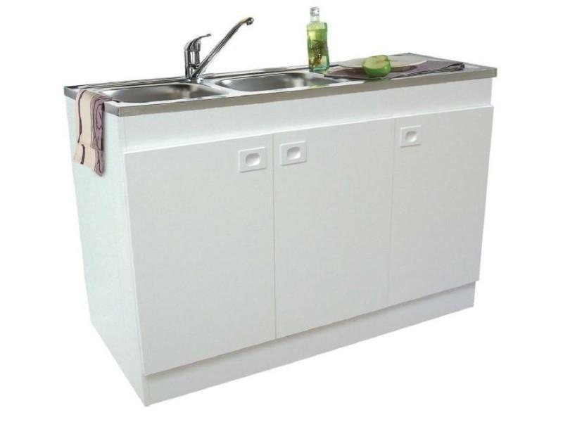 Plomberie - meuble sous évier décliq 2 portes - Vente de ...
