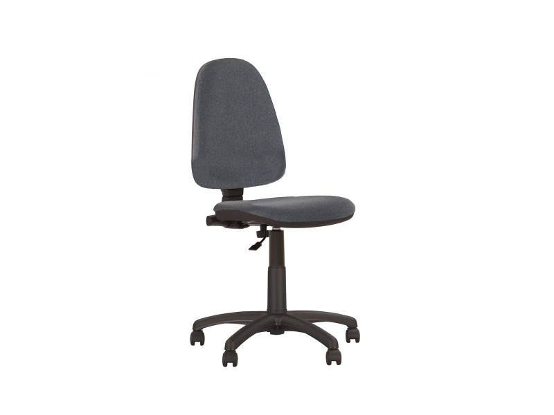 Chaise de bureau au dossier inclinable sans accoudoirs prestige